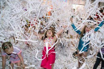 Детские праздники СВАО бумажное шоу