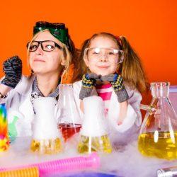 Химическое Шоу от аниматоров на детский день рождения