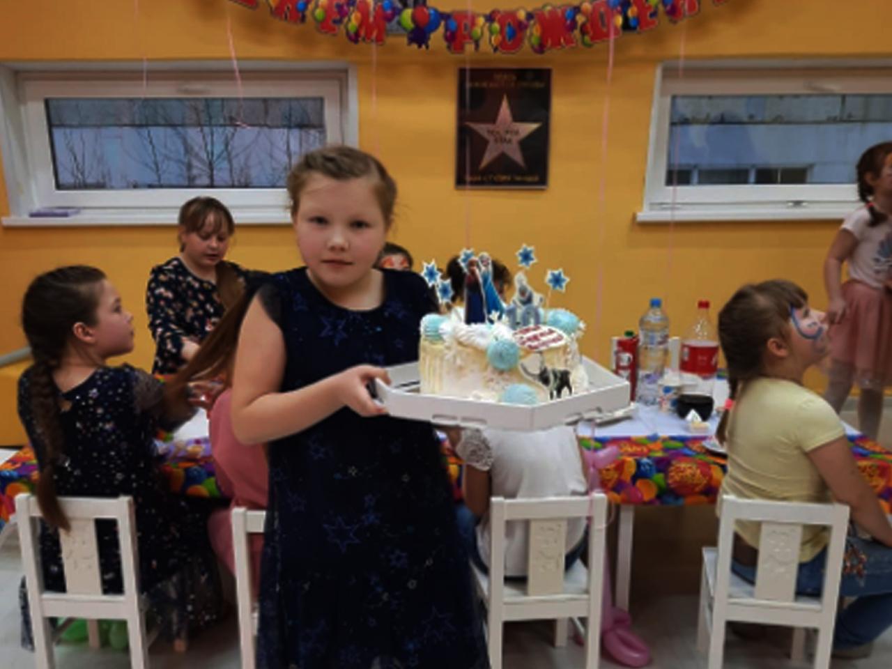 Тортик на заказ на детский день рождения