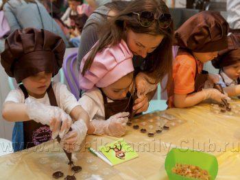 Мастер-класс для детей шоколадные конфеты