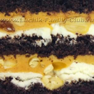 Начинка Сникерс для тортика на заказ на детский день рождения
