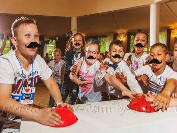 Усатая вечеринка на детский день рождения
